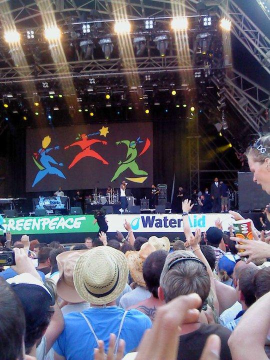Snoop Dogg at Glastonbury 2010