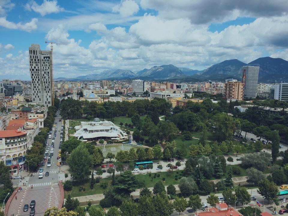 Tirana's Rinia Park - LOOKDWN