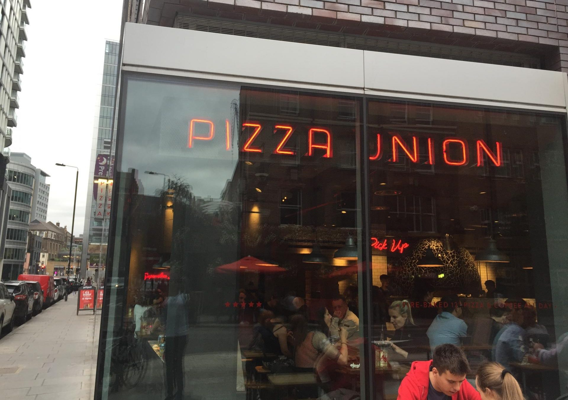Pizza Union Exterior