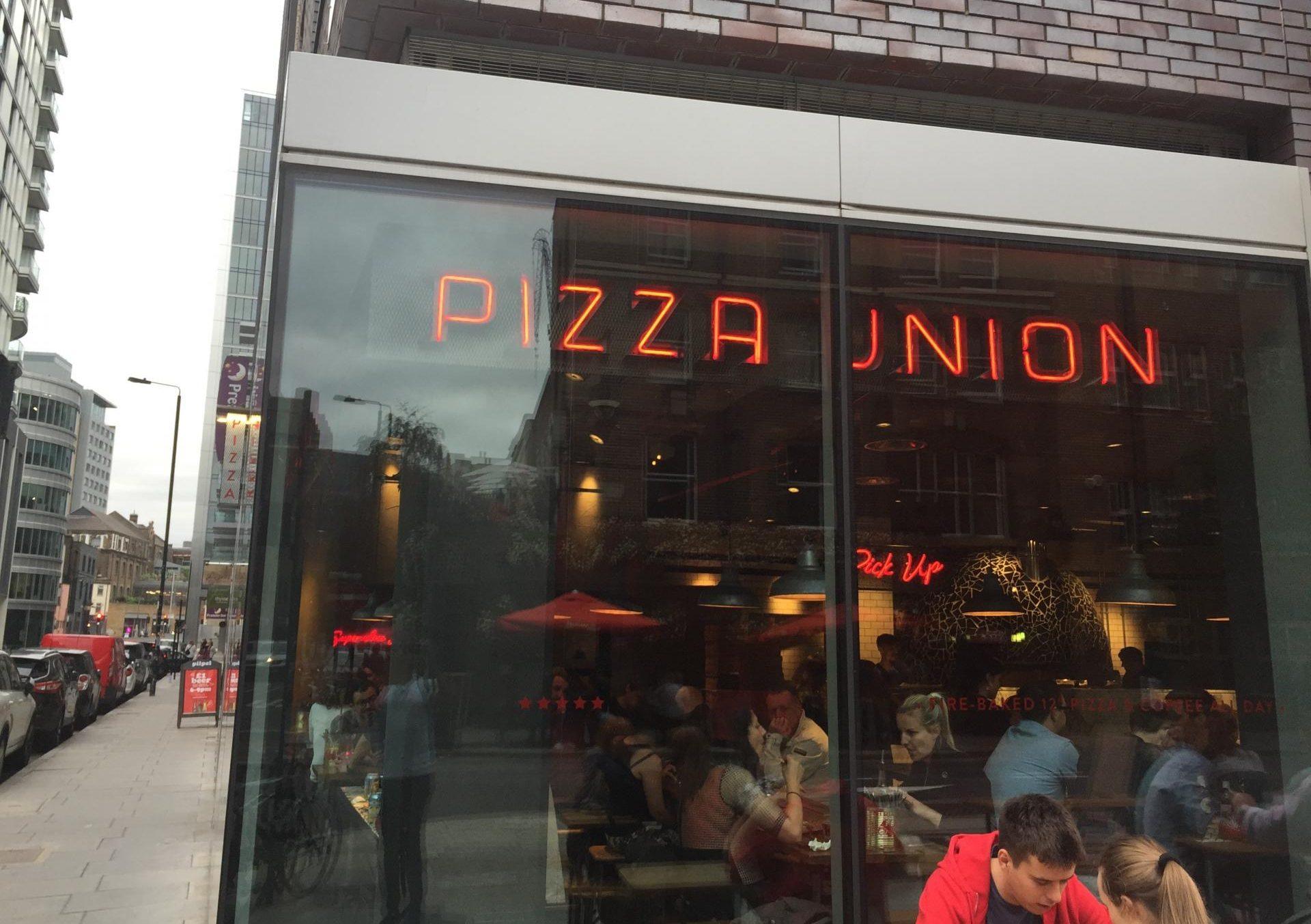 Pizza Union Exterior