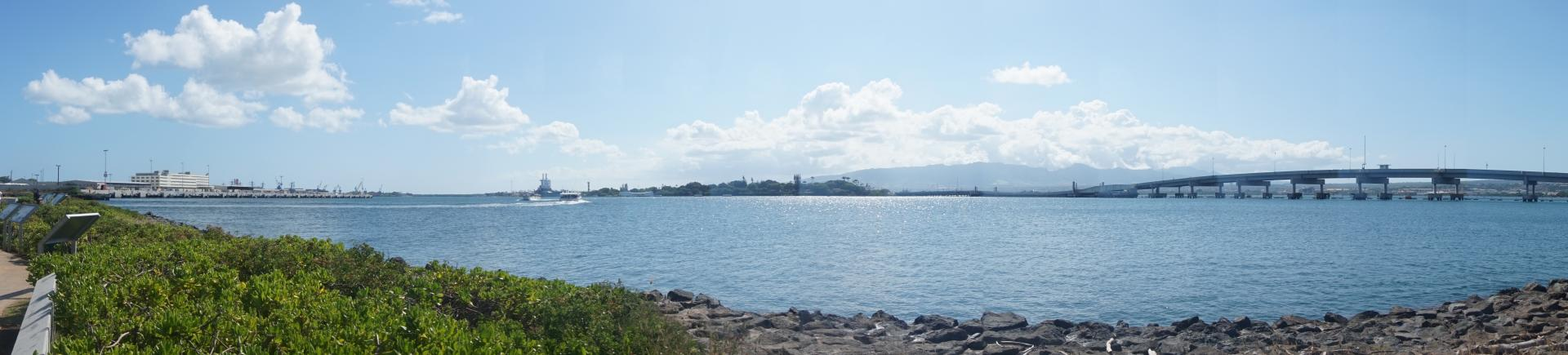 Pearl Harbor and views of the SS Missouri - June 2017