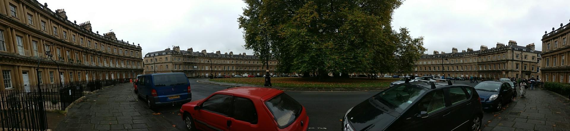 The Circus, Bath - November 2016