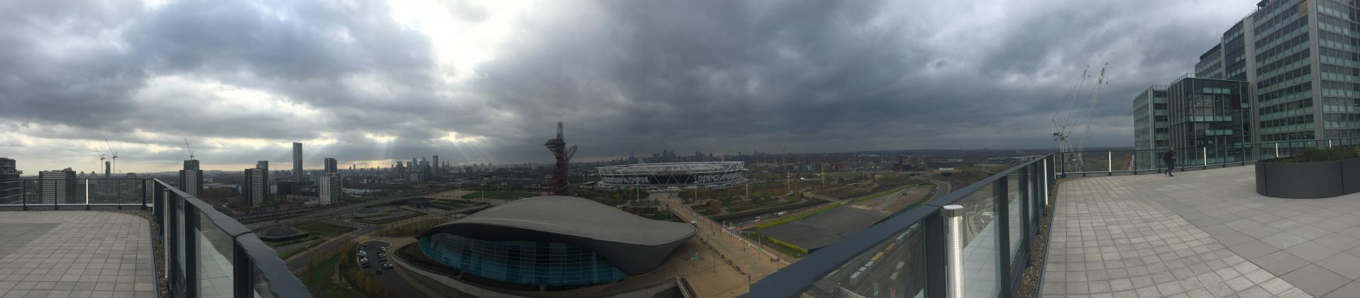 Stratford Rooftop Panorama Endeavour Square